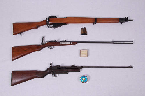 Budleigh Farm Historic Rifles